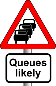 Queues Likely sign