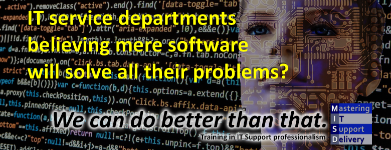 Software alone cannot fix it