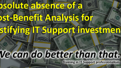 IT Support Finance